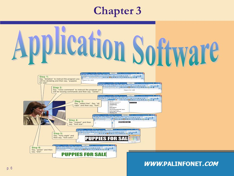 Application Software What is application software.