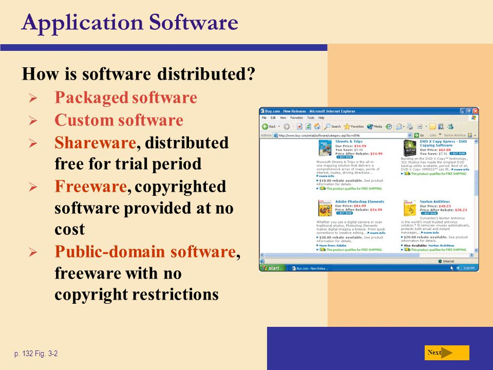 Application Software on the Web What is a Web application.