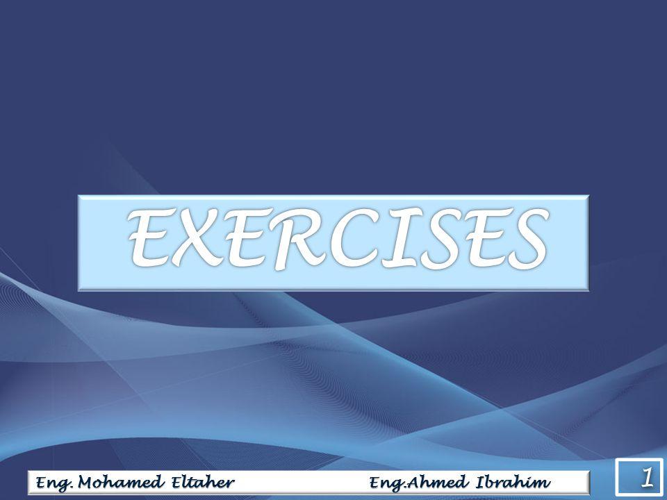 1 1 Eng. Mohamed Eltaher Eng.Ahmed Ibrahim