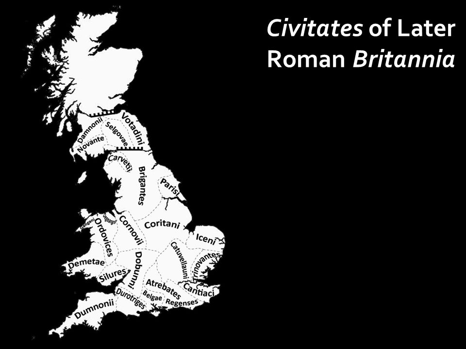 Civitates of Later Roman Britannia