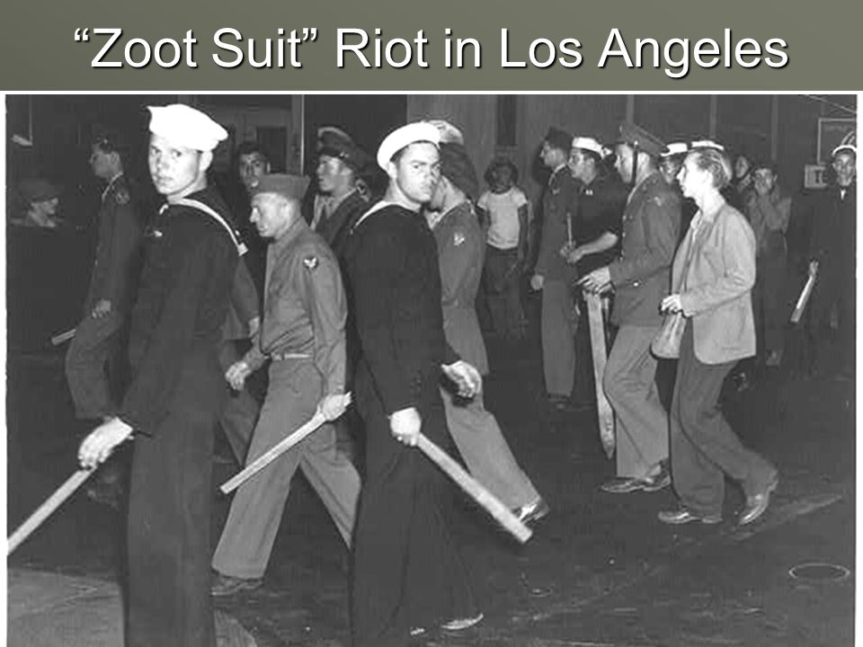 Zoot Suit Riot in Los Angeles