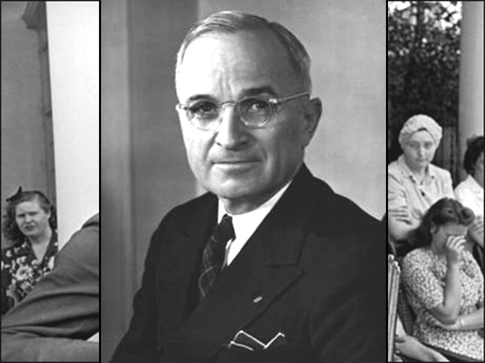 Soon after the Yalta Conference in Feb 1945, FDR died…and Harry Truman became president