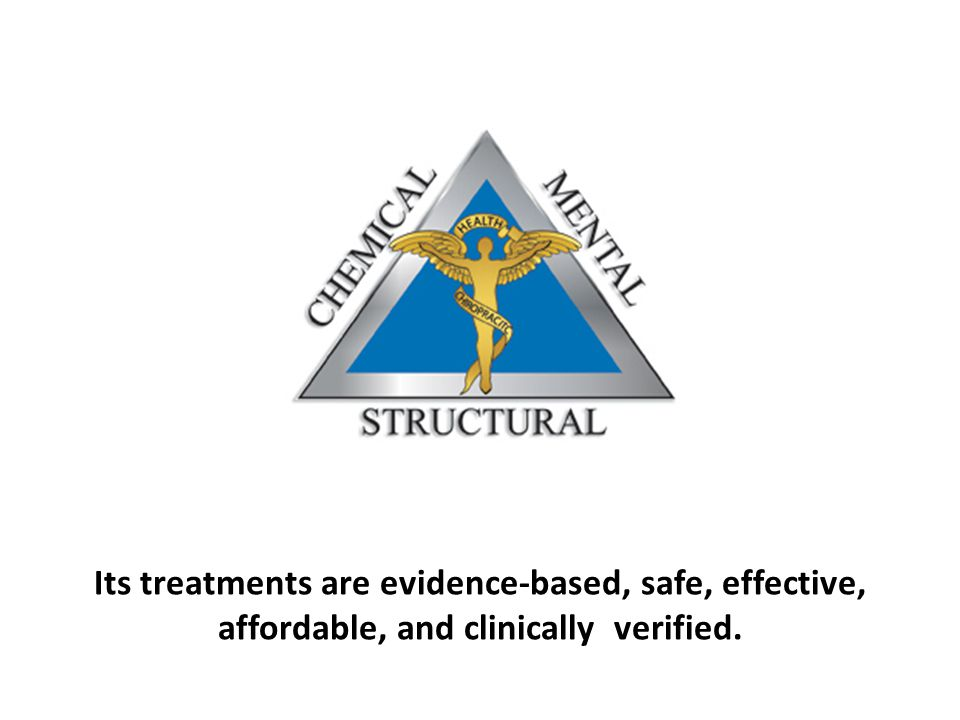 Its treatments are evidence-based, safe, effective, affordable, and clinically verified.