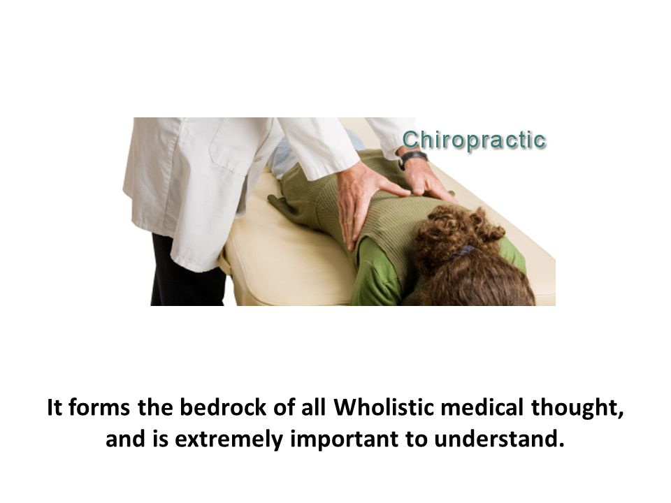 It forms the bedrock of all Wholistic medical thought, and is extremely important to understand.