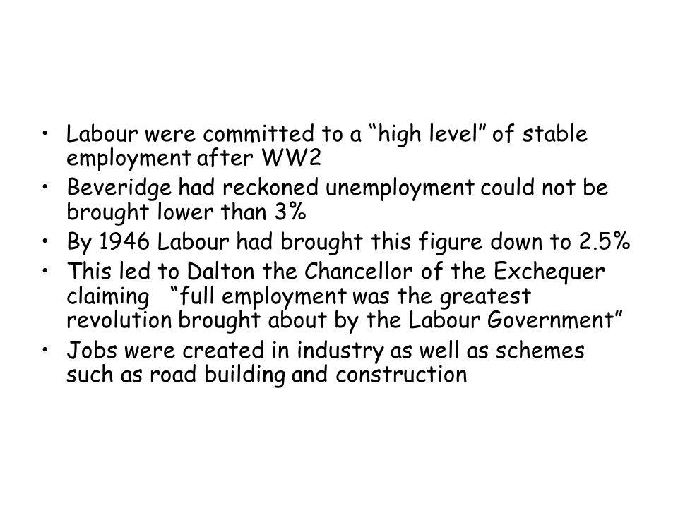 Reason for Labour's success .