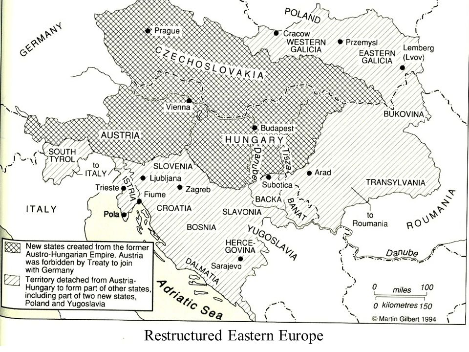 Restructured Eastern Europe