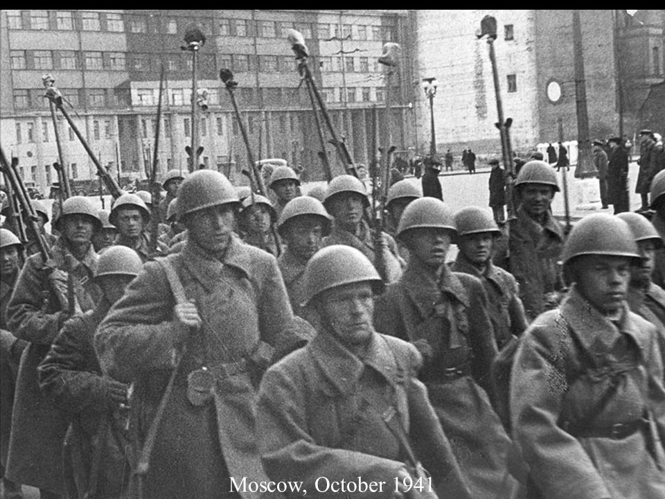 Moscow, October 1941