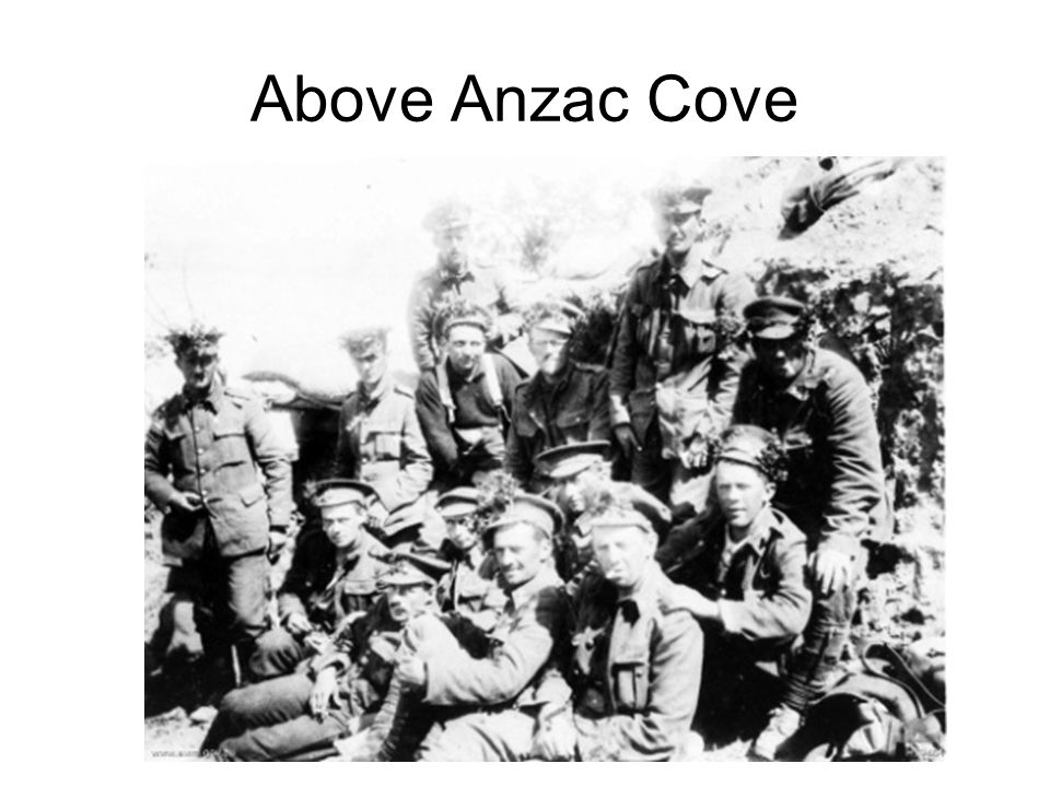 Above Anzac Cove