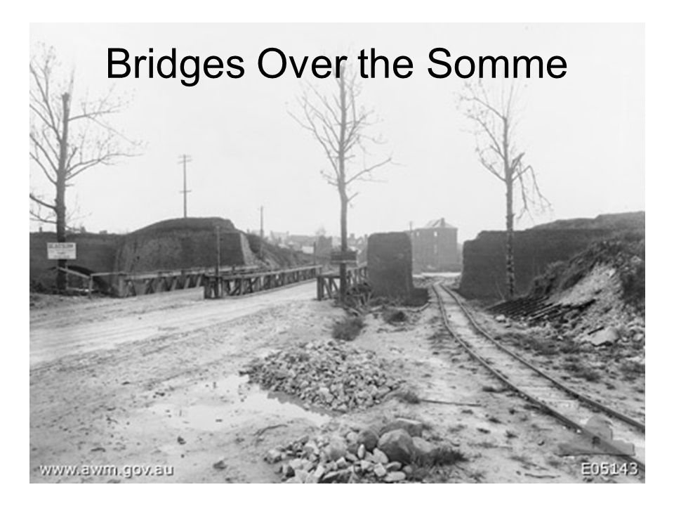 Bridges Over the Somme