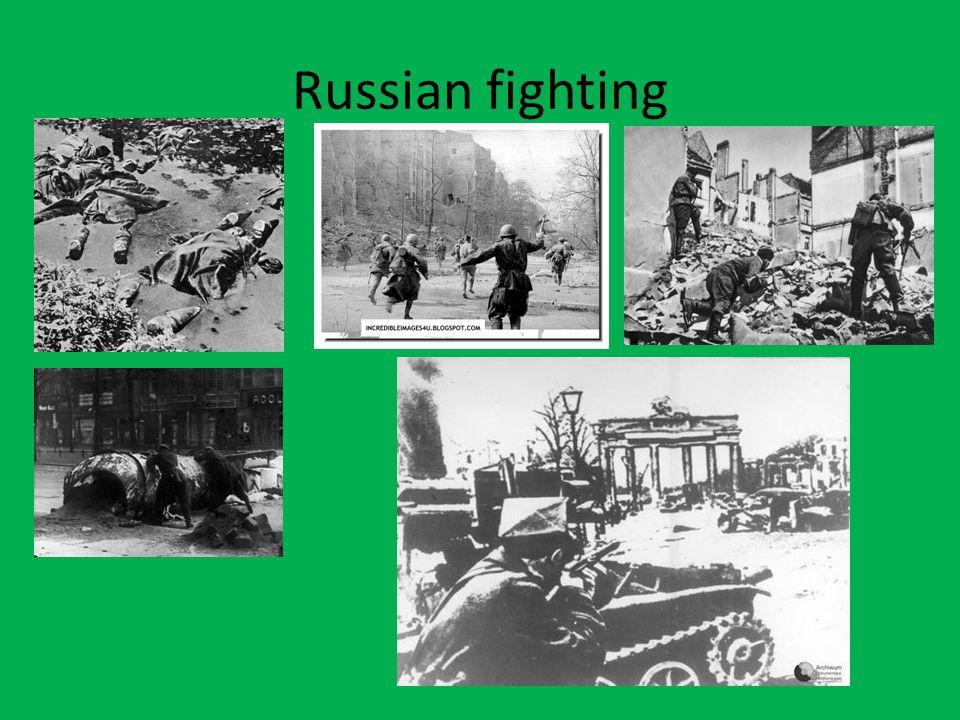 Russian fighting