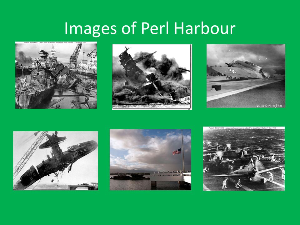 Images of Perl Harbour
