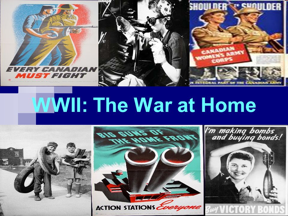 Total War By 1942, Canada was committed to a policy of Total War .
