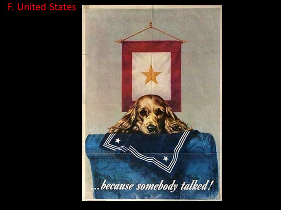 F. United States