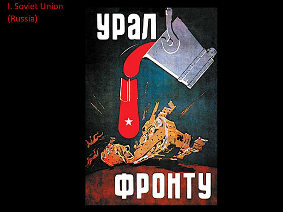 I. Soviet Union (Russia)