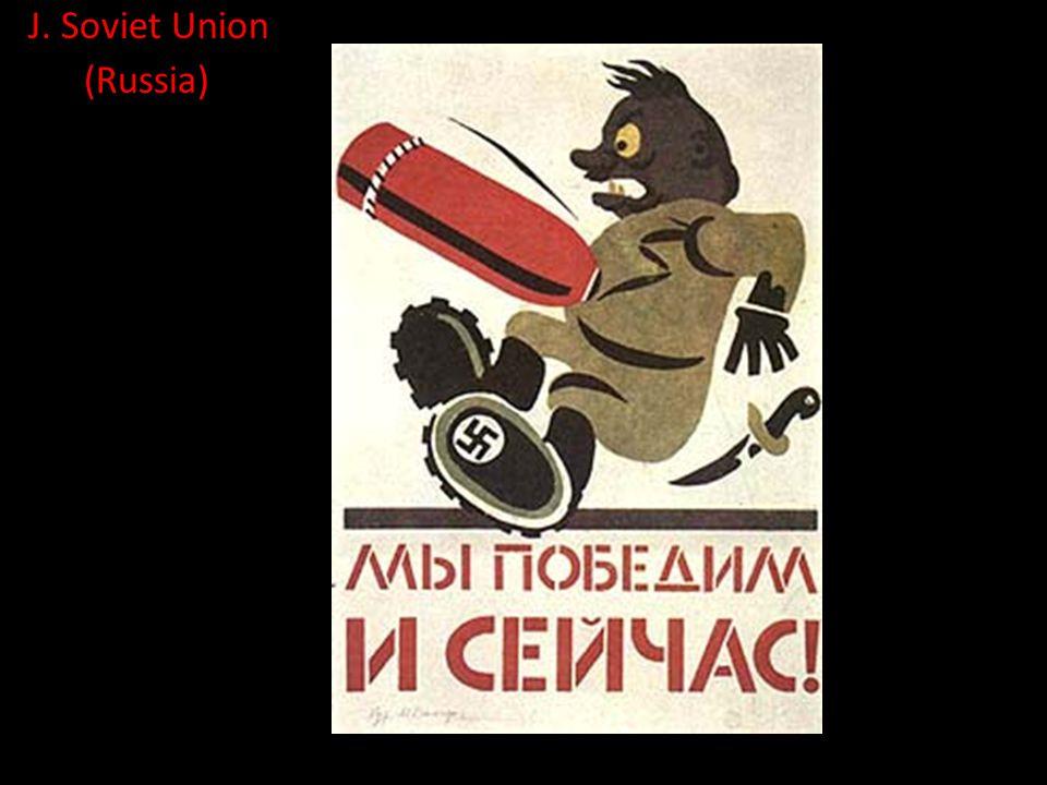 J. Soviet Union (Russia)