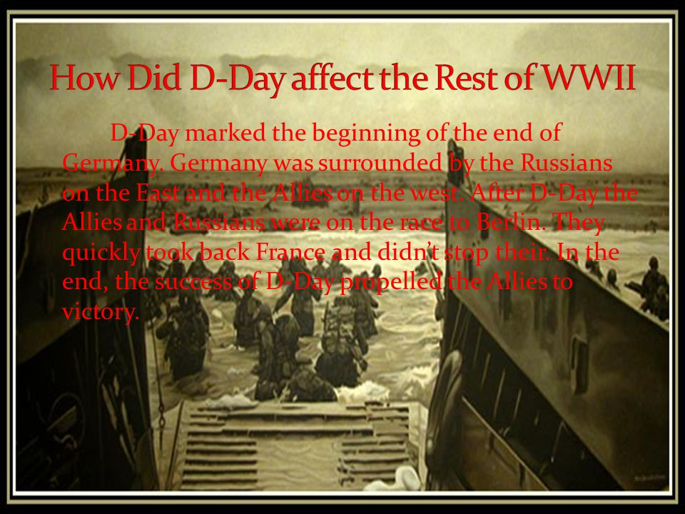 When Germany attacked their ally Russia it forced them to fight on two fronts. This left their forces stretched between the western and eastern front