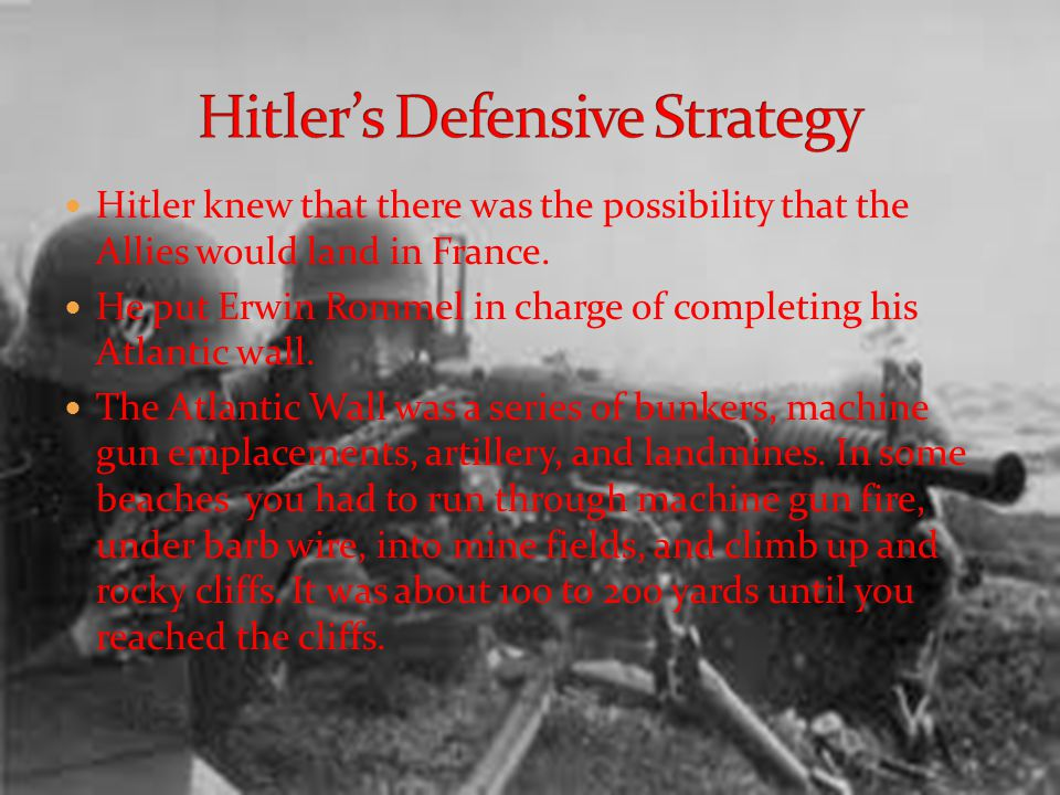To fake out the Germans and convince them that D- Day was coming in a different area the allied forces started a deception campaign. They created the