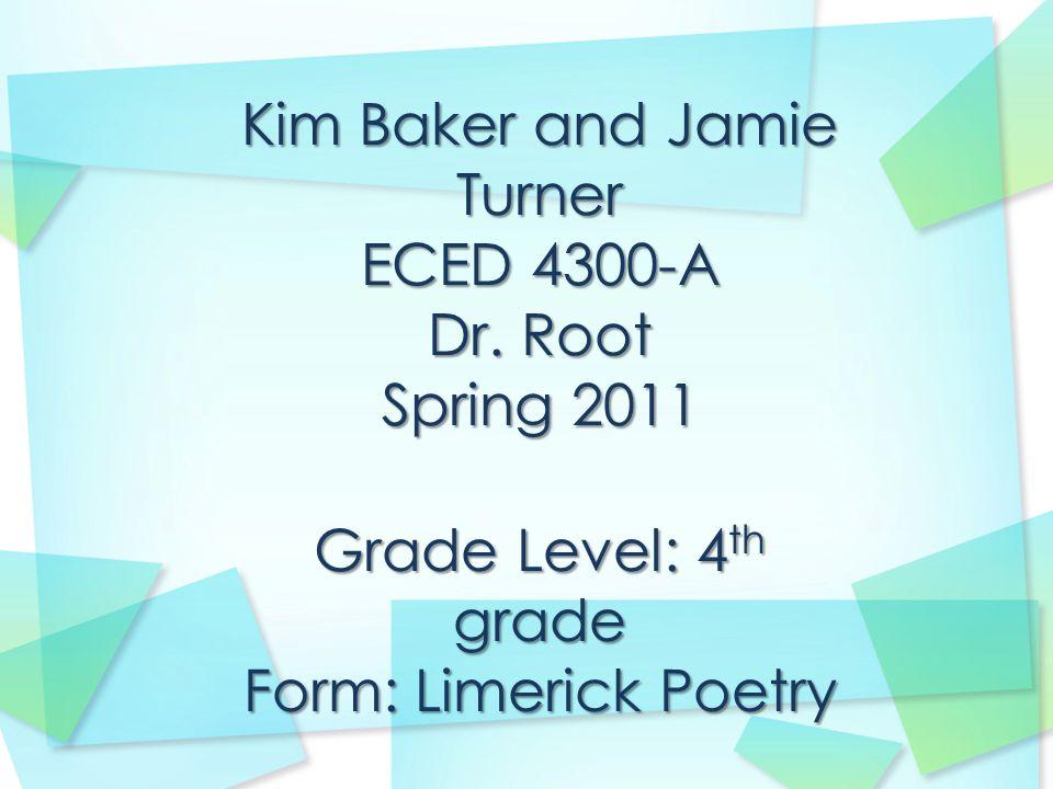 Kim Baker Stage of Writing: Prewriting