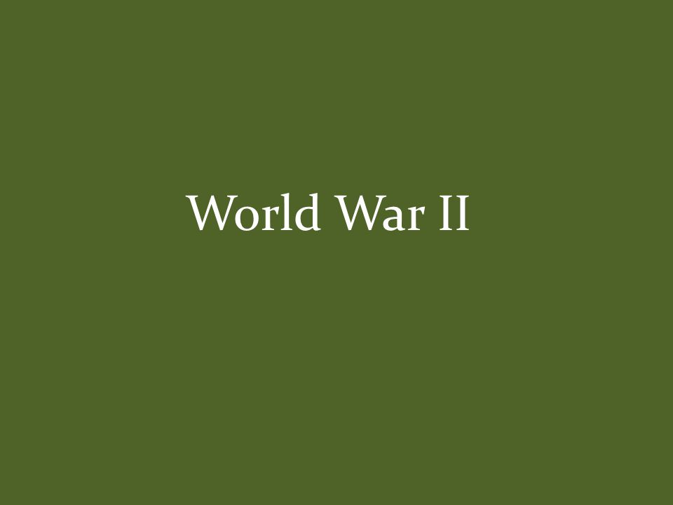 Early Events in Europe European Theatre March 1938 – Germany invades Austria September 29, 1938 – Munich Agreement (Britain and France hoping to avoid war gave in to Hitler's demands in a policy known as appeasement ) identify reasons for U.S.