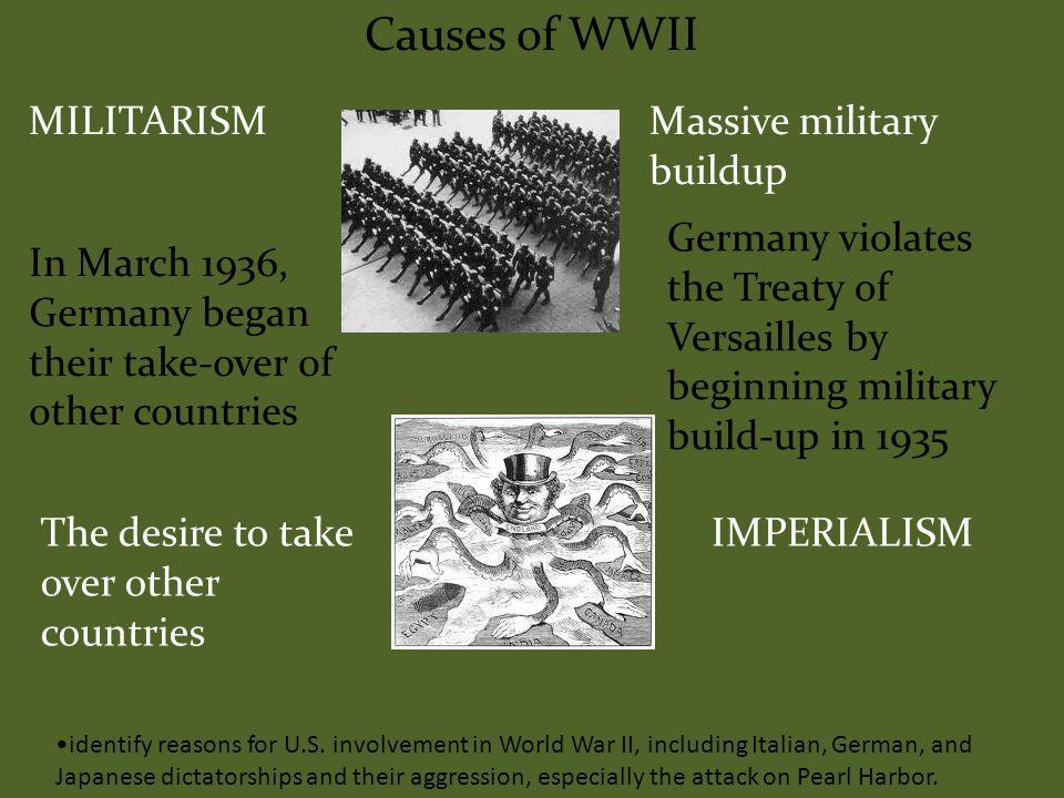 identify reasons for U.S.