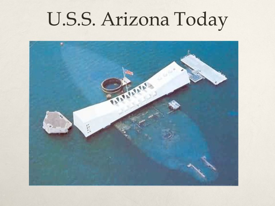 U.S.S. Arizona Today