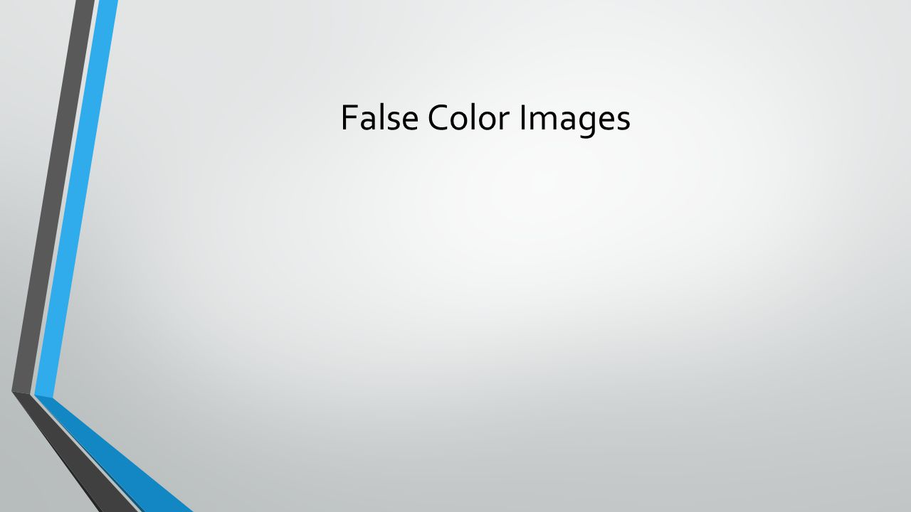 False Color Images