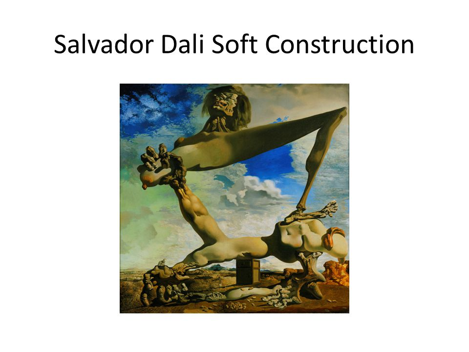Salvador Dali Soft Construction