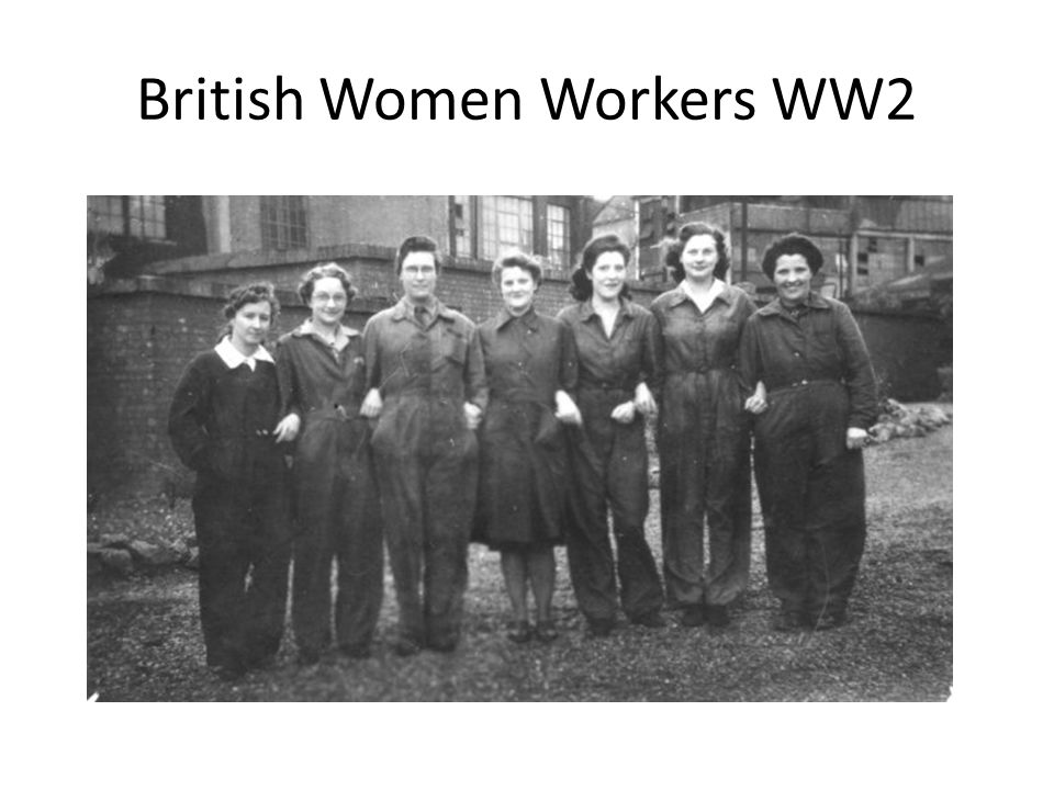 British Women Workers WW2