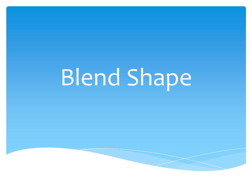 Blend Shape