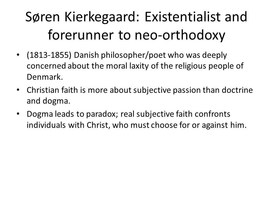 Karl Barth: neo-orthodox theologian (1886-1968) from Reformed Church in Switzerland.