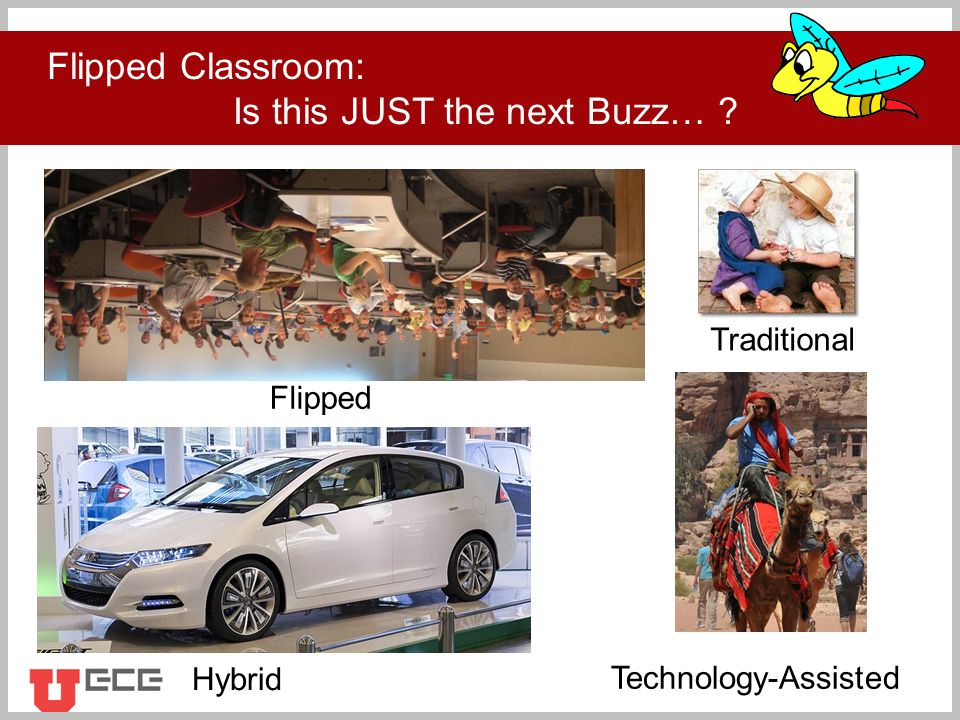 Click to add title Flipped Classroom: Is this JUST the next Buzz… .