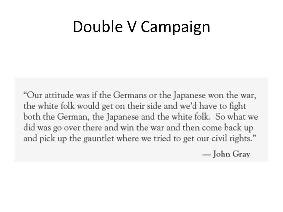 Double V Campaign