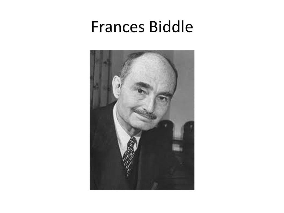 Frances Biddle