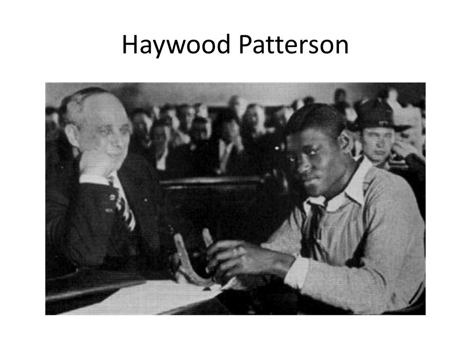 Haywood Patterson