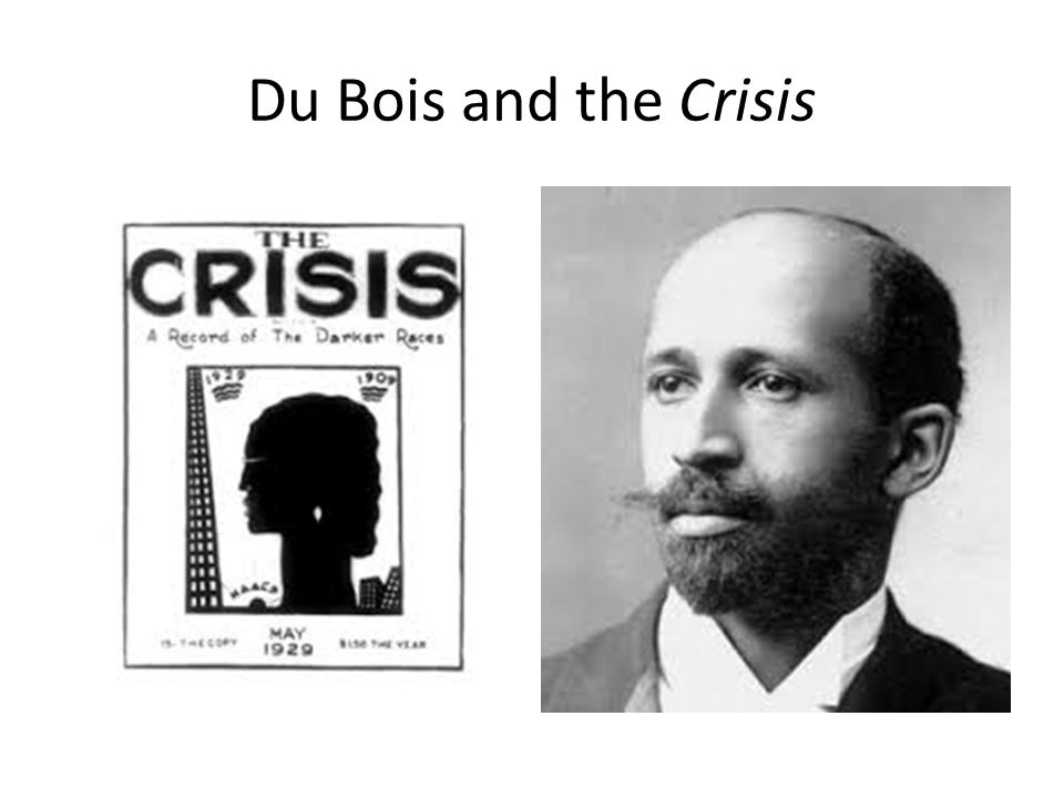Du Bois and the Crisis