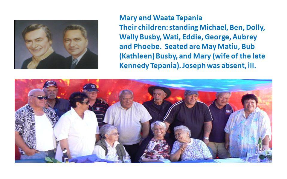 Allan and Nellie McPherson with Kathleen, Scotty, Allan, Barney, Ron and John, > 112 mokopuna
