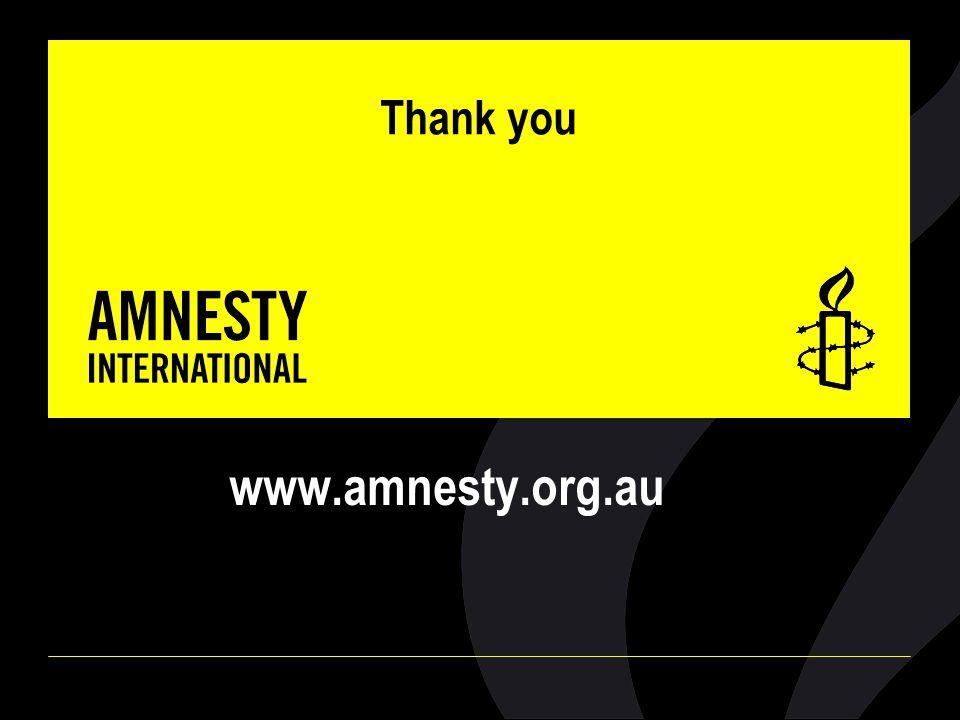 Thank you www.amnesty.org.au