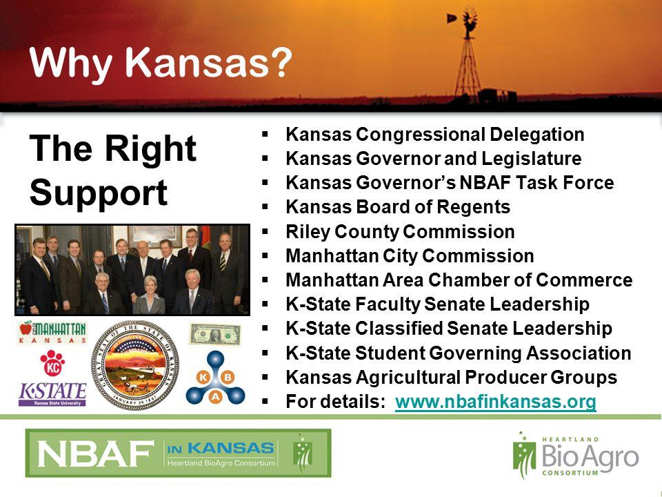 Why Kansas.