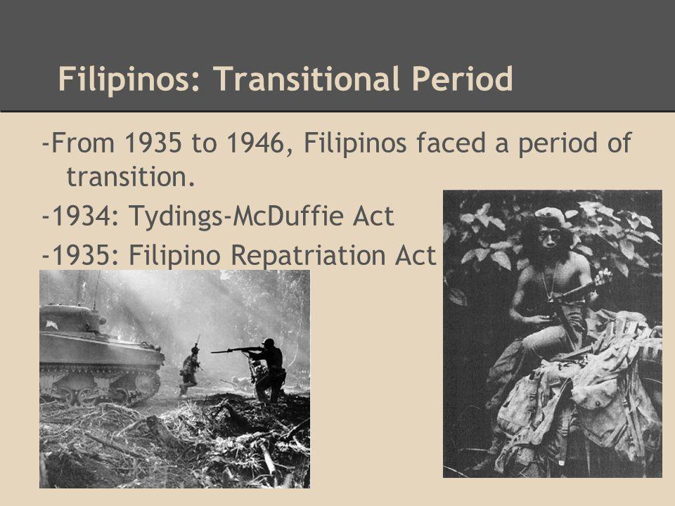 Filipinos: Third Wave -Third wave was from 1945-1965.