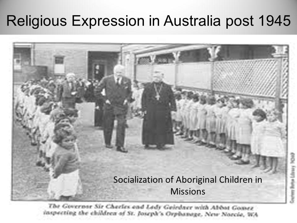 Socialization of Aboriginal Children in Missions