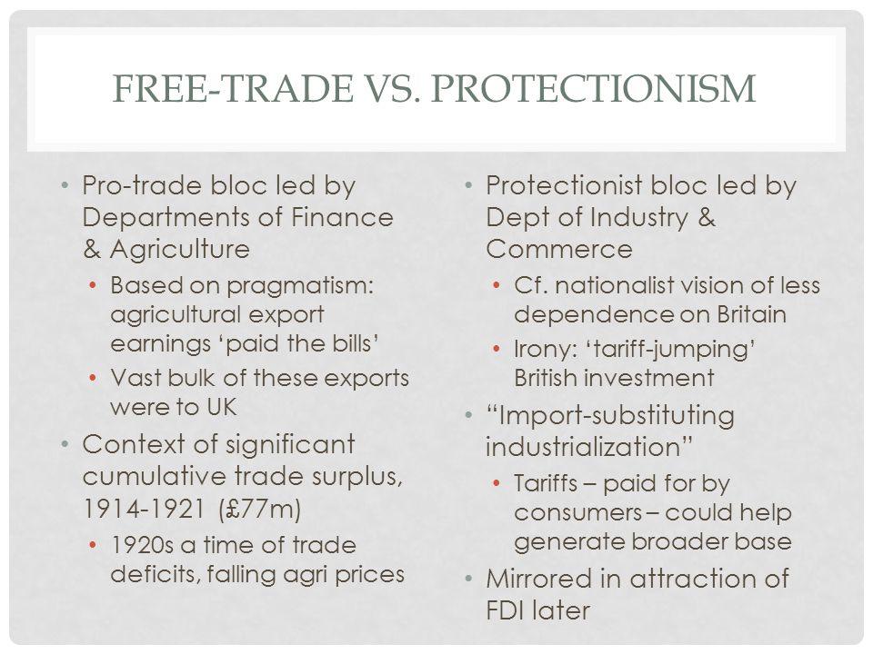 FREE-TRADE VS.
