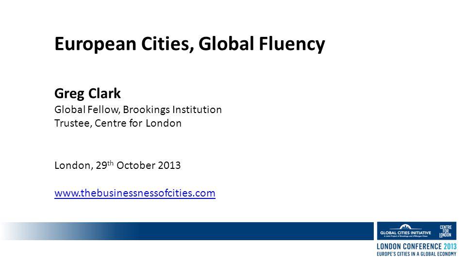 Why Global Fluency.