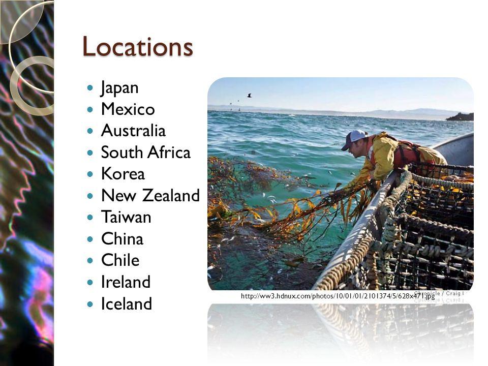 Locations Japan Mexico Australia South Africa Korea New Zealand Taiwan China Chile Ireland Iceland http://ww3.hdnux.com/photos/10/01/01/2101374/5/628x471.jpg