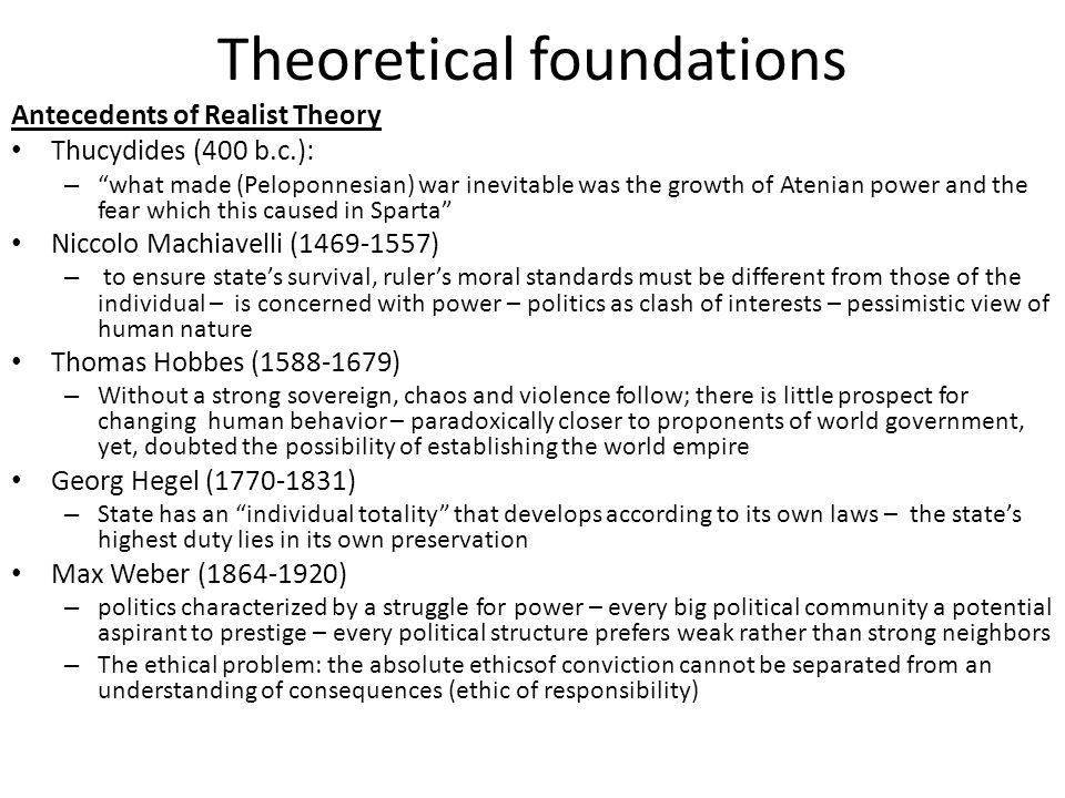 Theoretical foundations Power and International Behavior Power – problem of conceptualization: – Nicholas J.