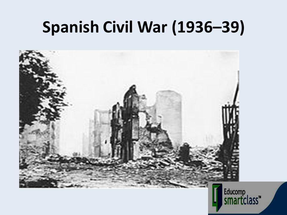 Spanish Civil War (1936–39)
