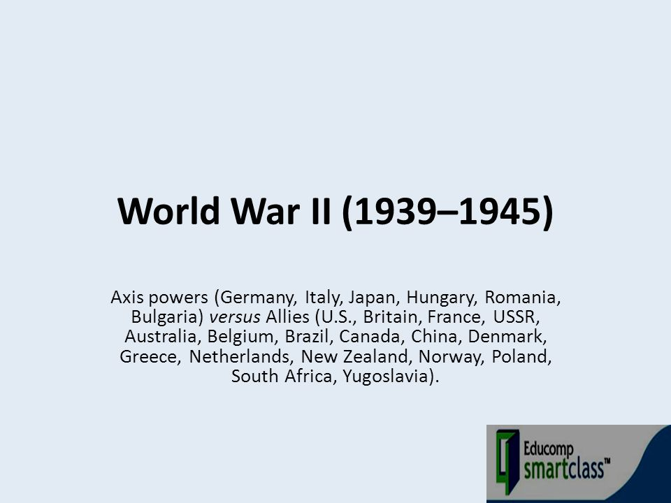 Land warfare changed from the static front lines of World War I to increased mobility and combined arms.