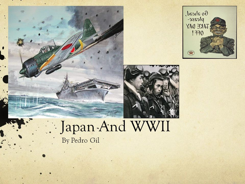 Japan And WWII By Pedro Gil