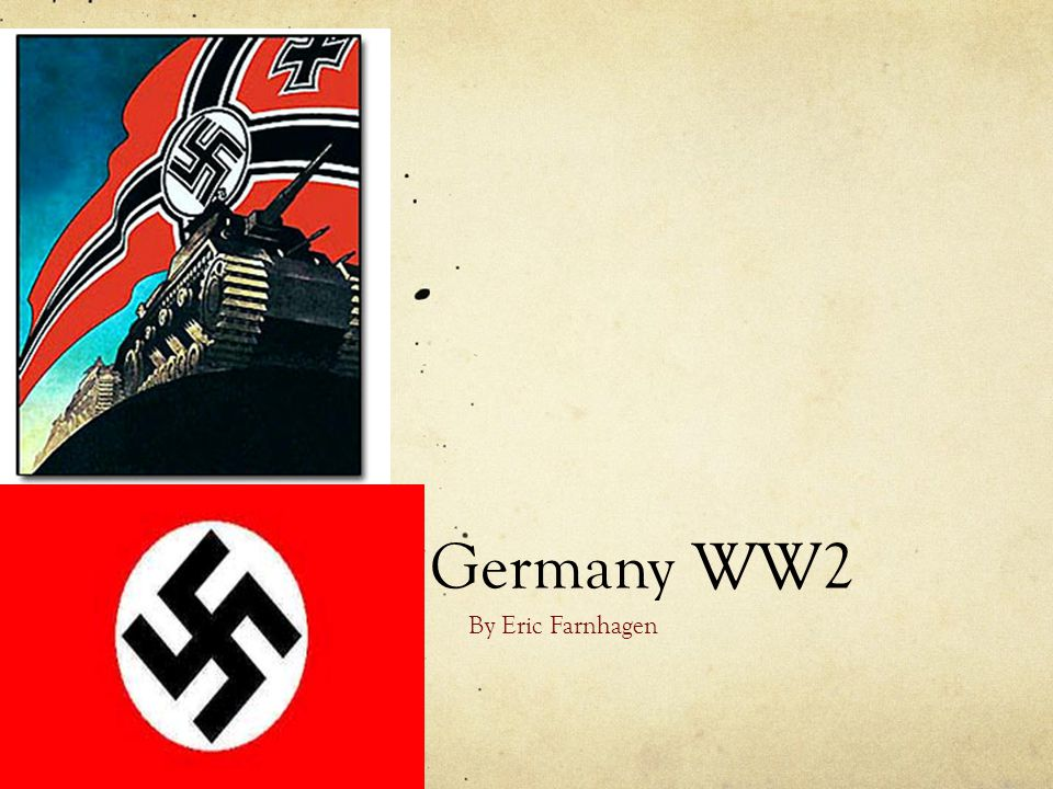 Germany WW2 By Eric Farnhagen