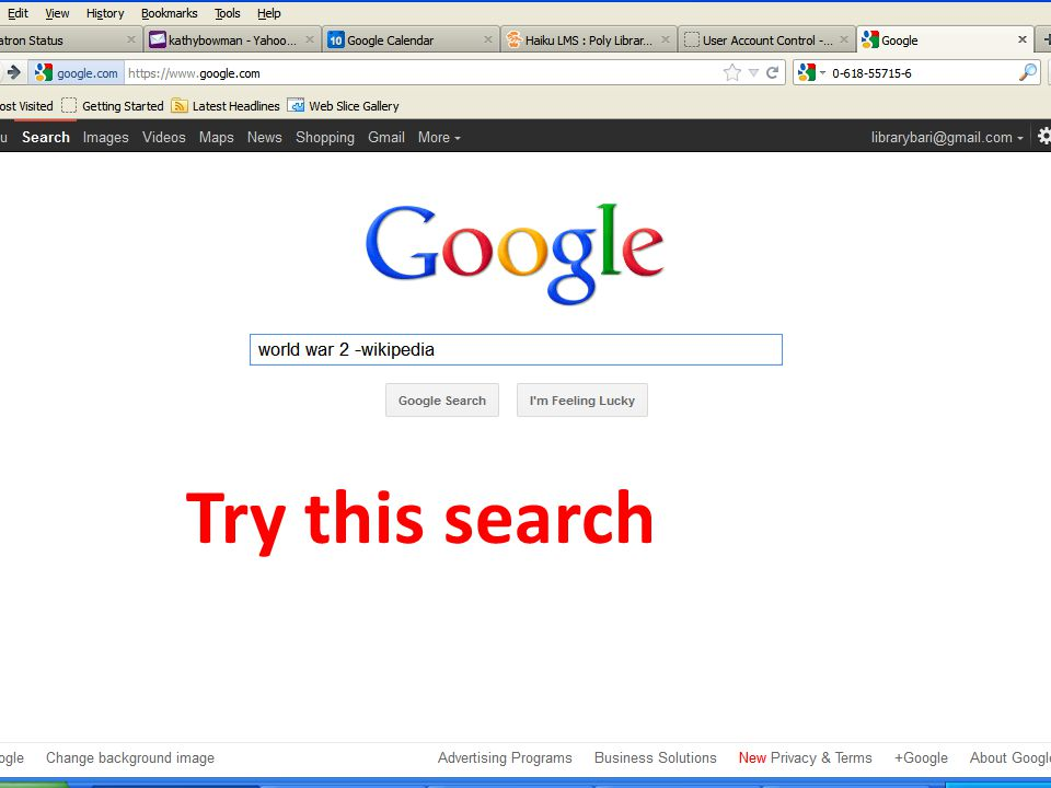 Try this search