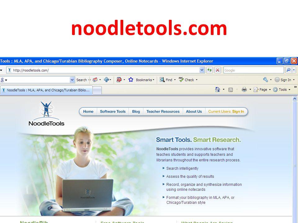 noodletools.com